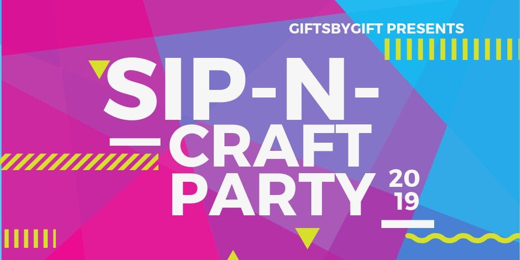 Sip and Craft Party