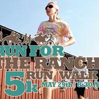 Run for the Ranch 5k RunWalk