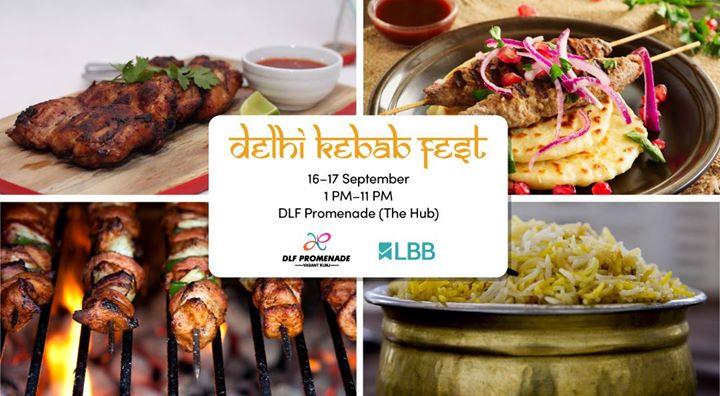 LBBEvent  Delhi Kebab Fest at DLF Promenade