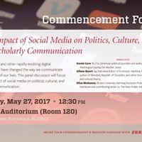 Impact of Social Media - David Corn Alissa Quart Elias Muhanna