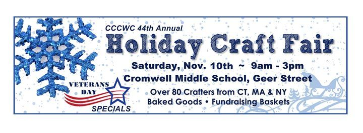 Holiday Craft Fair at Cromwell Middle School, Cromwell