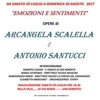 Emozioni e Sentimenti - (Mostra di pittura) Santucci - Scalella