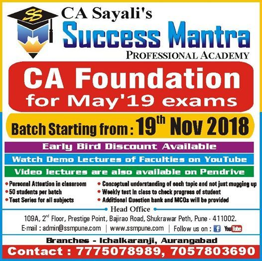 CA Foundation Introductory Sessions by Foundation Faculties