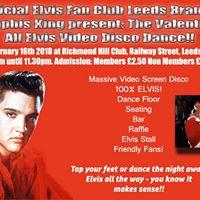 Memphis King Leeds Fan Club present The Elvis Valentines Dance