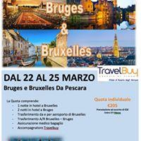 Bruges e Bruxelles - Viaggio di Gruppo da Pescara