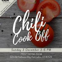 Community Chili Cook Off Fundraiser