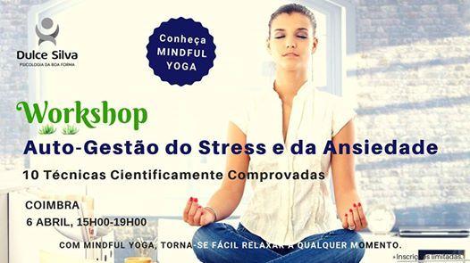 Coimbra - Workshop Auto-Gesto do Stress e da Ansiedade