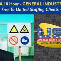 2 Day OSHA 10 Hr. - General Industry Course