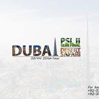 5 Day Dubai and Live PSL Match