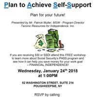 PASS Workshop (for SSI &amp SSDI beneficiaries)