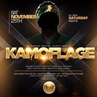 This weekend HEAT Saturdays with DJ Kamoflage