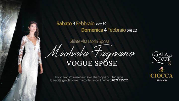 11c4e6262e62 Michela Vogue Spose Presenta Collezione DI ABITI DA SPOSA at Michela ...