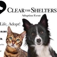 Clear the Shelters Adoption Event