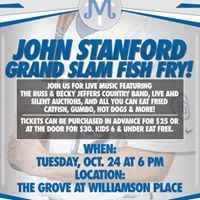 John Stanford Grand Slam Fish Fry