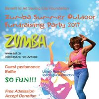 Zumba Summer Outdoor Fundraising Party 2017