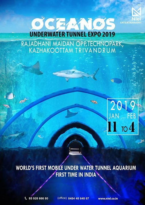 Indias First Underwater Tunnel Expo 2019