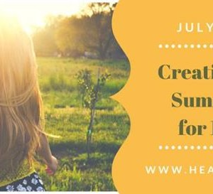 Summer Camp July 2-6 Creative Wellbeing for 11-15 yr olds