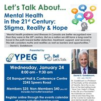 Mental Health in the 21st Century Stigma Reality &amp Hope