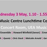 Lunchtime Concert Music Award Holders &amp Percussion Ensemble
