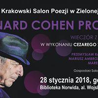 Krakowski Salon Poezji Ballady Cohena w wykonaniu C.oyskiego