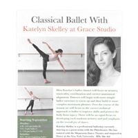 Ballet Master Classes with professional ballerina