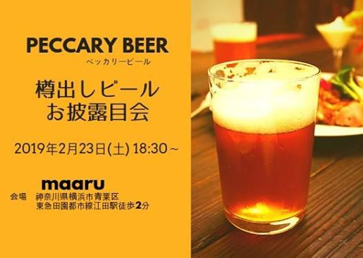 Peccary BEER
