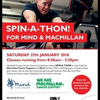 Charity Spin-a-thon