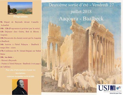 Deuxime sortie dt - Aaqoura  Baalbeck