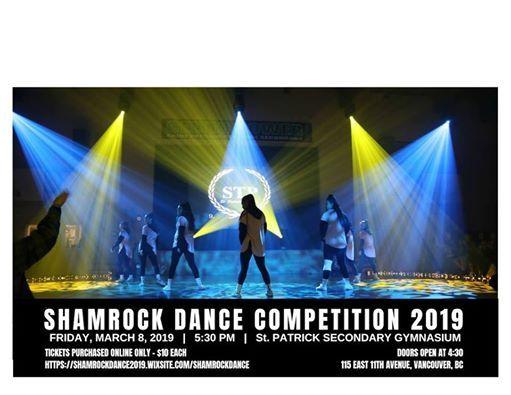 Shamrock Dance Competition 2019