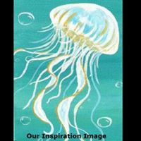 Cochrane Teen Art Social -Jellyfish - July 26
