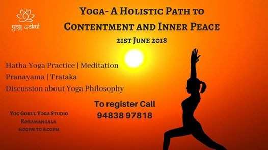 Yoga-A Holistic Path to Contentment and Inner Peace