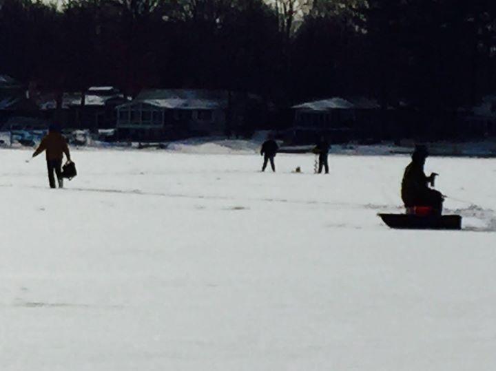 Tri lakes ice fishing tournament at mecosta lake 105th ave for Ice fishing tournament