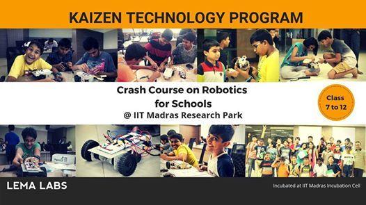 Summer Robotics Crash Course - Class 7 to 12