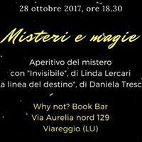 Rassegna Misteri e magie Aperitivo del mistero