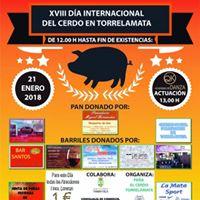 XVIII Da Internacional del Cerdo en Torrelamata