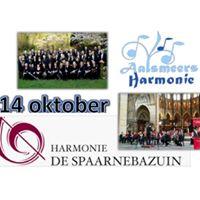 Duo concert Spaarnebazuin en Aalsmeers Harmonie