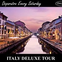 Italy Deluxe Tour
