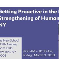 Preserving &amp Strengthening of Human Services in New York