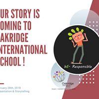 Campaign at Oakridge International School