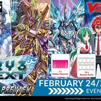 Cardfight Vanguard Sneak Preview TRY3 NEXT  Monthly Tournament