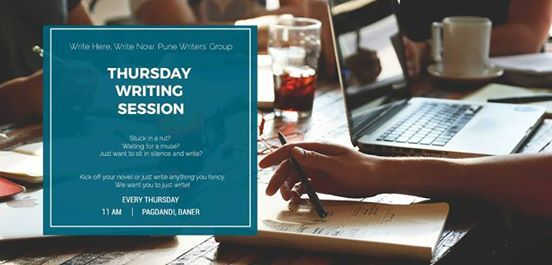 Write Here Write Now Thursday Writing Session