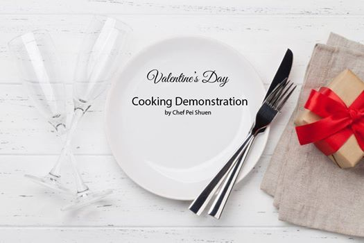 Valentines Day Cooking Demonstration Class