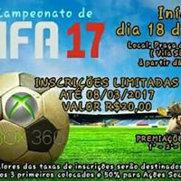 1 CAMPEONATO DE FIFA 2017 NO XBOX 360