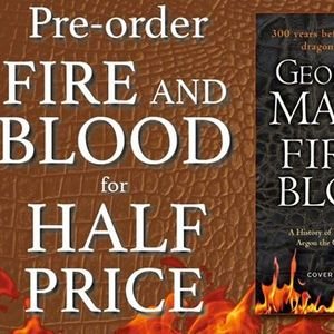 Book Launch Fire and Blood
