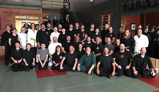 Outer Dragon with An-Shu Stephen K  Hayes at Boulder Quest Center