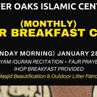 Monthly Fajr Breakfast Club
