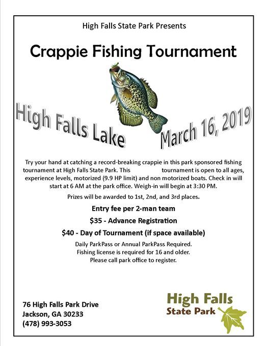 2019 Crappie Fishing Tournament