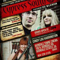 CypressSouth LIVE at Avondale Towne Cinema May19