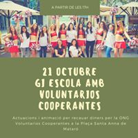 Gi Escola amb Voluntarios Cooperantes