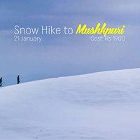 Snow Trip to Mushkpuri